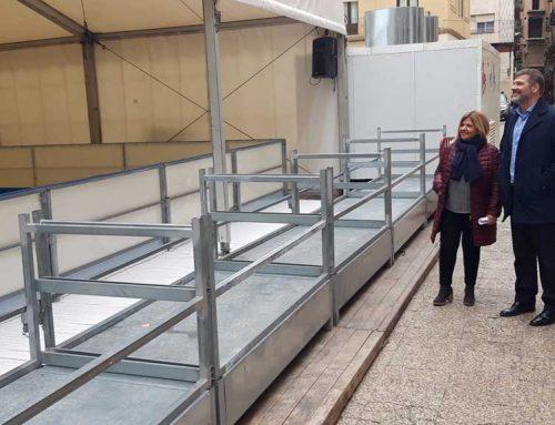 La pista de gel s'estrenarà dijous a Tortosa amb una gran exhibició de patinatge