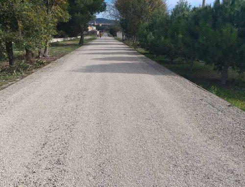 Finalitzen els treballs de millora del ferm de la Via Verda entre Xerta i Tortosa