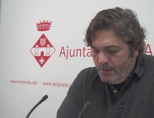 Manel Masià (Junts per Amposta) carrega contra el pressupost del 2020 d'Adam Tomàs (ERC)