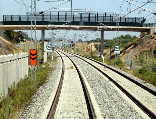 Adif té pràcticament enllestida la connexió de la via de la variant de Vandellòs al corredor mediterrani