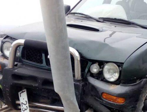 Dos accidentats en un xoc a la carretera entre Flix i Riba-roja