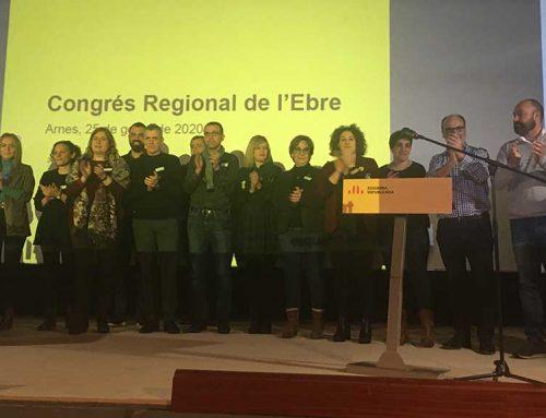 Montserrat i Pujol lideraran la Federació de l'Ebre d'Esquerra Republicana