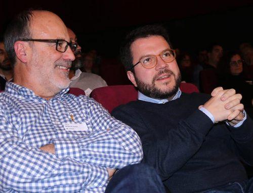 """Aragonès alerta que no poder aprovar els pressupostos de 2020 abocaria el país al """"col·lapse"""""""