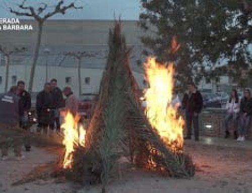 Sant Antoni 2020: Foguerada – Santa Bàrbara