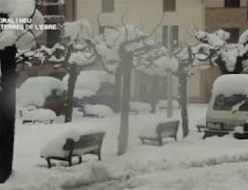 [ESPECIAL] Els efectes del temporal a les Terres de l'Ebre – Neu a la Terra Alta