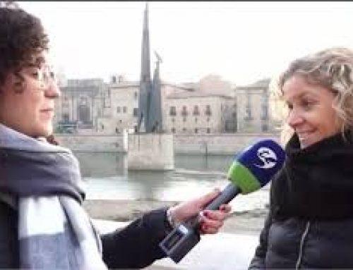 Entrevista a Meritxell Roigé, alcaldessa de Tortosa, sobre la descatalogació del monument franquista