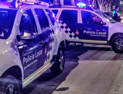 La Policia Local de Tortosa deté tres persones per un robatori amb força en un immoble de Ferreries