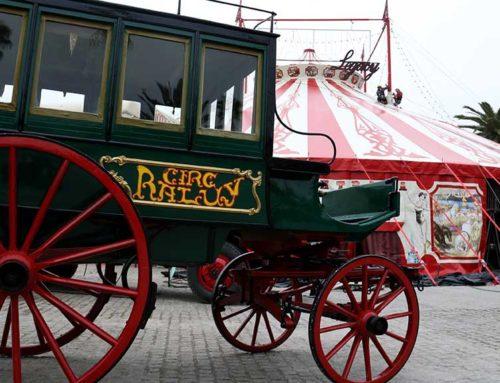 El circ Raluy obre les portes del cor de la companyia, confinada a Reus