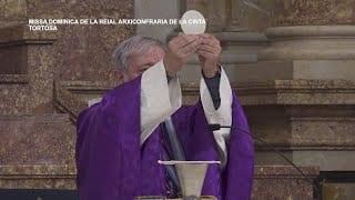 Missa Dominica de la Reial Arxiconfraria de la Cinta de Tortosa  Diumenge 01 de Març