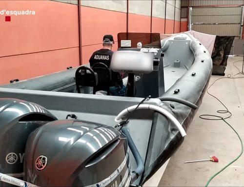 Desarticulada una organització criminal que introduïa haixix a la costa de Llevant en embarcacions pneumàtiques