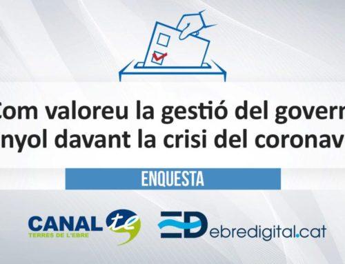 [ENQUESTA] Com valoreu la gestió del govern espanyol davant la crisi del coronavirus?