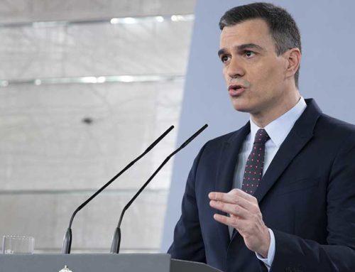 Sánchez anuncia un nou paquet d'ajudes d'11.000 MEUR per a empreses, pimes i autònoms