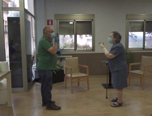 Salut farà tests d'antígens a tots els visitants de les residències