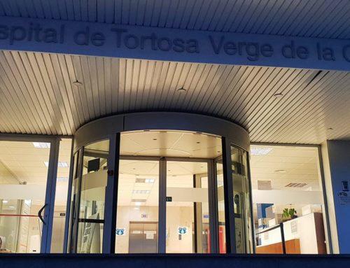 Salut confirma un brot de covid-19 a l'Hospital de Tortosa Verge de la Cinta que afecta 6 professionals i 3 usuaris
