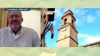 L'Estret de Magallanes des de casa amb l'alcalde de la Fatarella