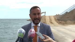 Visita d'obres al port de les Cases d'Alcanar
