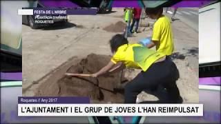 La Calaixera. Festa de l'arbre (Roquetes dels anys 2017 al 2019)