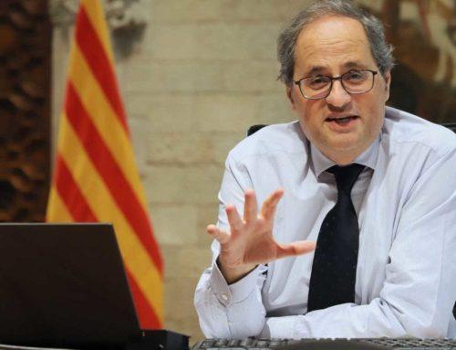 """Torra, després de reclamar a Sánchez el dret a l'autodeterminació i les 40 peticions: """"Ara, volem solucions"""""""
