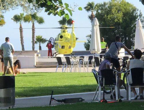 Mor el ciclista que es va accidentar en caure a les escales del parc de Garbí a la Ràpita.