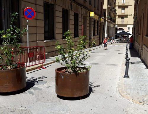 Tortosa amplia la zona de vianants als carrers Enric Bayerri i Pescadors