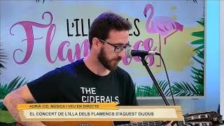 L'Illa dels Flamencs en concert amb Adrià Cid