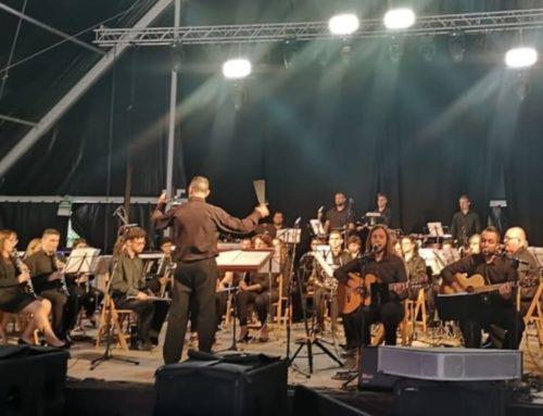 La Banda La Ginesta de Ginestar i el duo Marta i Gregori tornen als escenaris després del confinament