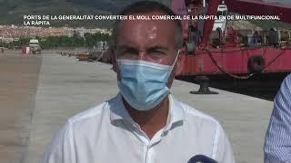 Ports de la Generalitat converteix el moll comercial de La Ràpita en un multifuncional