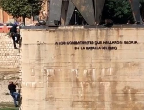 Movem Tortosa i ERC presenten una moció conjunta per reclamar una passarel·la on hi ha ara el monument franquista