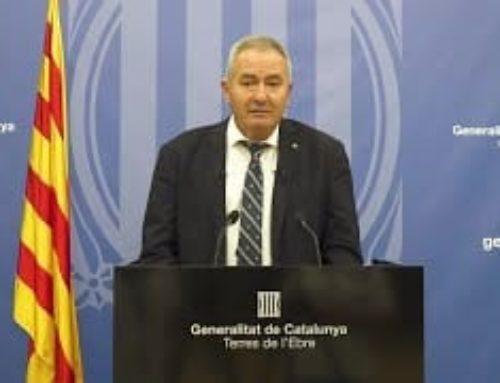 Missatge Institucional 11 de Setembre: Xavier Pallarès, delegat del Govern a les Terres de l'Ebre