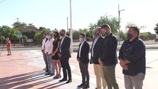 Acte institucional de la Diada de Catalunya a l'Aldea i presentació de l'exposició dels 10 mandats