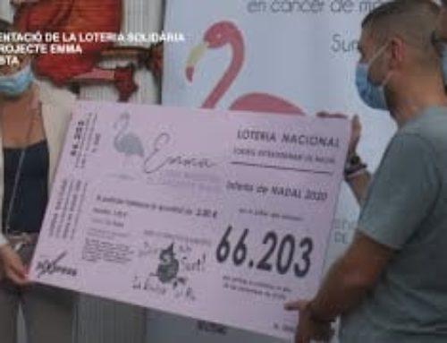 Presentació de la Loteria Solidària del Projecte Emma