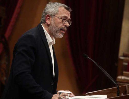 Domínguez (Cs): 'La mala gestió del govern de la Generalitat pot fer que les Terres de l'Ebre perdin gairebé 10 milions d'euros d'inversions'