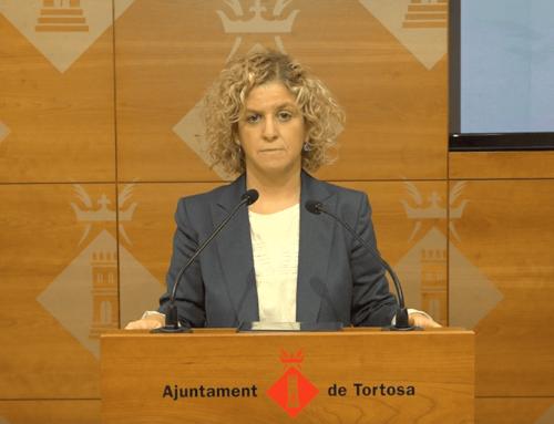 L'alcaldessa de Tortosa respon el comunicat conjunt dels grups de l'oposició i rebat les propostes que hi plantegen