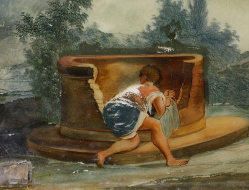 El Museu de Tortosa reinterpreta una de les peces de la seua col·lecció pictòrica dins la mostra 'Obres els dipòsits'