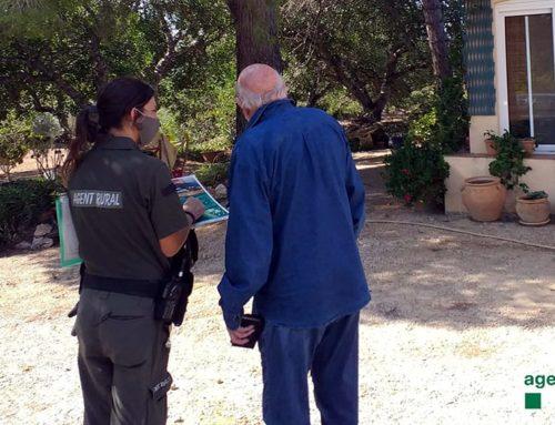 Una cinquantena de propietaris del Perelló fan perímetres de protecció contra incendis en habitatges aïllats