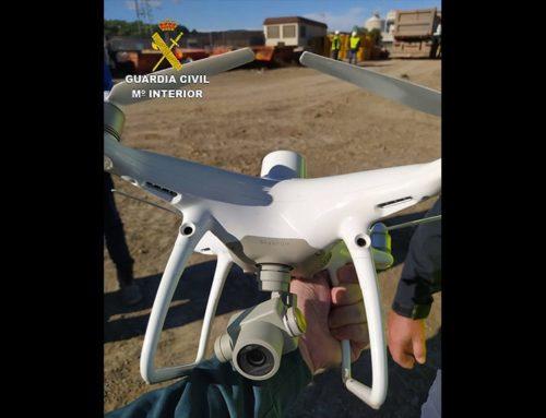 La Guàrdia Civil intercepta un drone sobrevolant sense permís la central nuclear d'Ascó