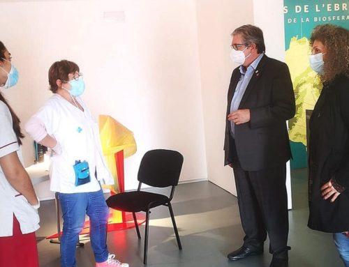 El Consell Comarcal del Baix Ebre cedeix les instal·lacions d'EbreTerra per a la  campanya de vacunació de la grip