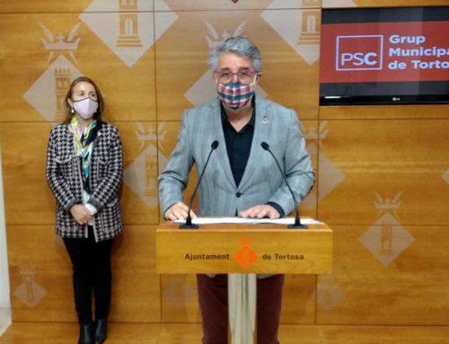 El PSC de Tortosa presenta una moció al ple que reclama al Govern més ajuts per al sector de la restauració i el comerç