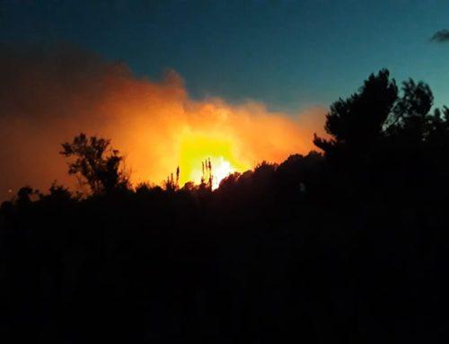 Els Mossos detenen dues persones com a presumptes responsables de l'incendi de Collredó a Tortosa