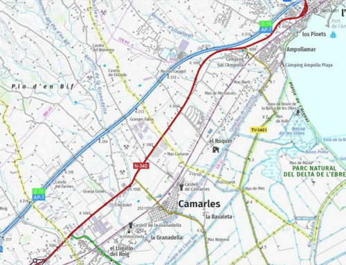 Un accident sense ferits i amb un únic vehicle implicat provoca 13 quilòmetres de cues a l'AP-7 al Baix Ebre
