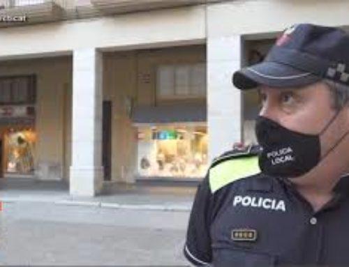La Policia Local de Tortosa intensifica la vigilància per fer complir les mesures del Procicat