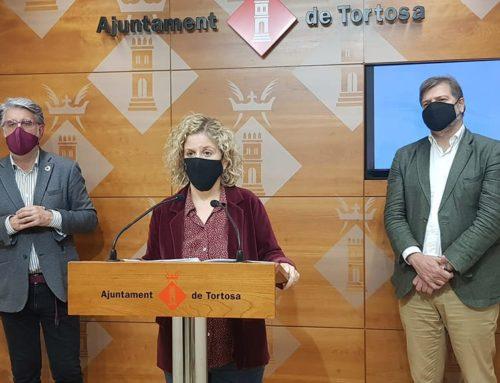 L'alcaldessa de Tortosa reitera la necessitat d'aprovar noves ajudes a la restauració, amb el suport dels grups municipals