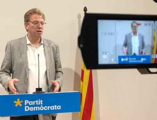 Ferran Bel diu que el PDeCAT negociarà els pressupostos al marge de Junts per Catalunya