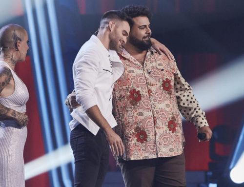 Adam Ainouz, cantant de l'orquestra ampostina Junior's, arriba a la semifinal de 'La Voz'