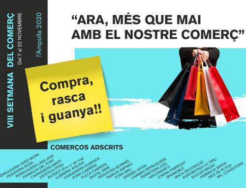 L'Ajuntament de l'Ampolla destina 5.000 euros a la Setmana del Comerç per incentivar el consum local