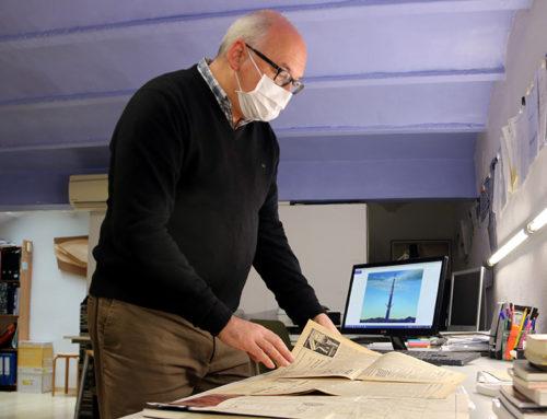 L'arquitecte tortosí Antoni López Daufí és l'autor del projecte que certifica la viabilitat del desmuntatge del monument franquista