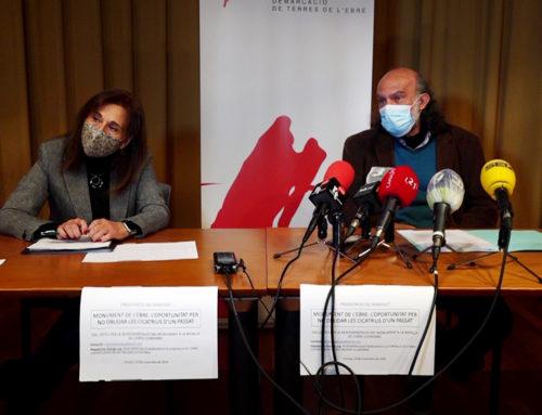 Un col·lectiu ciutadà de Tortosa reclama que es mantingui i reinterpreti el monument franquista