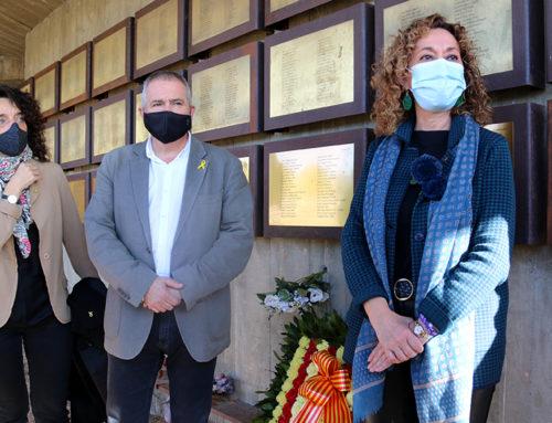 Justícia homenatja 40 víctimes de la Batalla de l'Ebre a les Camposines en un acte sense familiars