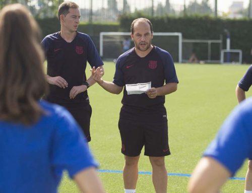 El Barça femení del gandesà Rafel Navarro vol seguir imbatut