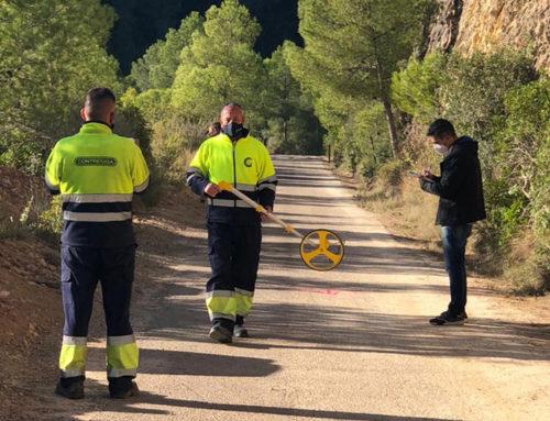 El Consell Comarcal del Baix Ebre millora el ferm de la Via Verda entre Xerta i el Pinell de Brai